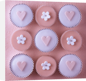 Pink Cupcakes by Assaf Frank