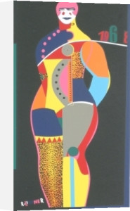 Fun City from Multiples by Richard Lindner