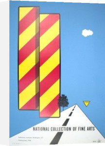 Yield, 1968 by Allan D'Arcangelo