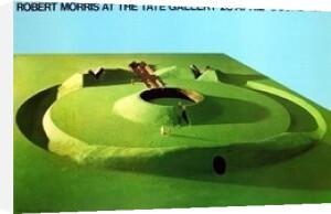 Observatory Earthwork-Project for Sousbeek 71, Arnhem by Robert Morris