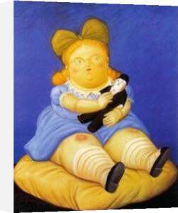 La Muñeca by Fernando Botero