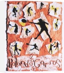 Roland Garros, 2003 by Jane Hammond
