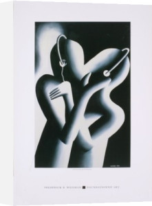 Dream Team by Mark Kostabi