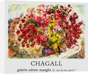 Jardins De St Paul, 1973 by Marc Chagall