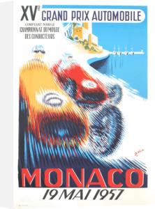 Monaco Grand Prix 1957 by B. Minne