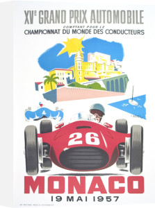 Monaco Grand Prix 1957 by J. Ramel