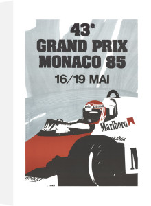 Monaco Grand Prix 1985 by Anonymous
