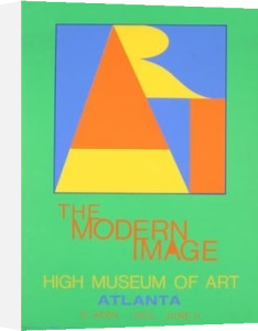 Atlanta-ART, 1972 by Robert Indiana