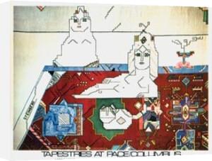 Persian Rug, 1977 by Saul Steinberg