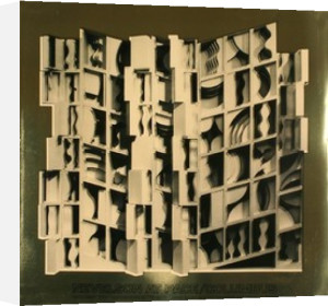 At Pace Columbus, Gold by Louise Nevelson