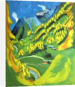 Bergabhang by Ernst Ludwig Kirchner