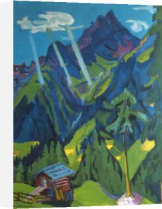 Bundner Lands by Ernst Ludwig Kirchner