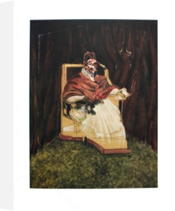 Portrait Pope Innocent XII by Francis Bacon