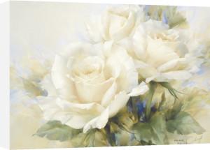 Bouquet Of White Roses by Igor Levashov