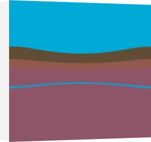 Acid Purple & Blue by Erin Rafferty