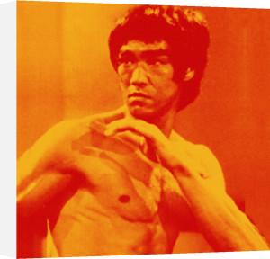 Bruce Lee (orange) by Erin Rafferty