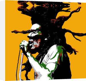 Bob Marley by Erin Rafferty