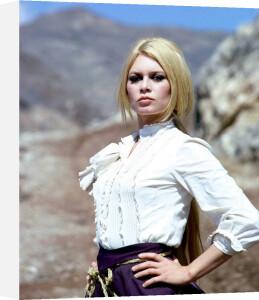 Brigitte Bardot (Shalako) by Hollywood Photo Archive