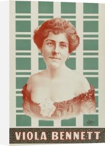 Viola Bennet 1890 by Celebrity Image