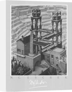 Waterfall by M.C. Escher