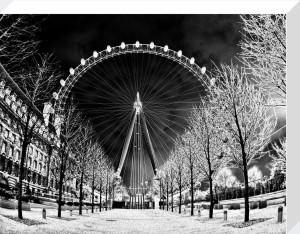 London Eye (Black) by Panorama London