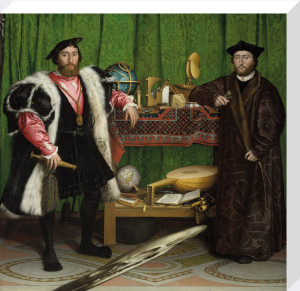 The Ambassadors by Hans Holbein The Younger
