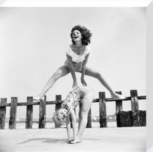 Holiday fun, Margate 1960 by Mirrorpix