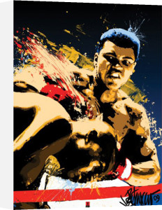 Muhammad Ali (Sting) by Anonymous