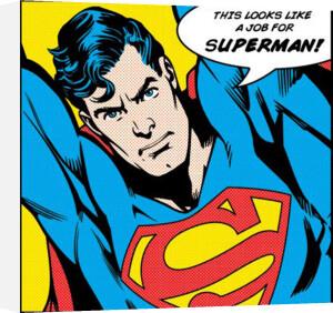 Superman (Looks Like A Job For) by DC Comics