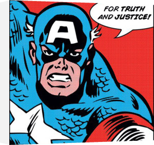 Captain America (For Truth and Justice) by Marvel Comics