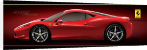 Ferrari (458 Italia) by Anonymous