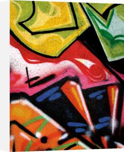 Colorful Graffiti by Jenny Kraft