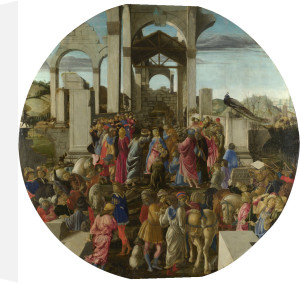 The Adoration of the Kings by Sandro Botticelli