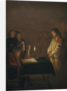 Christ before the High Priest by Gerrit van Honthorst