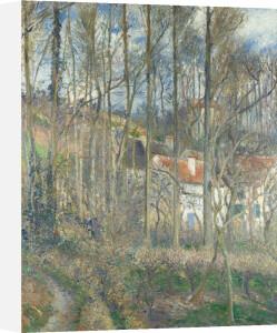 The Cote des Boeufs at L'Hermitage by Camille Pissarro