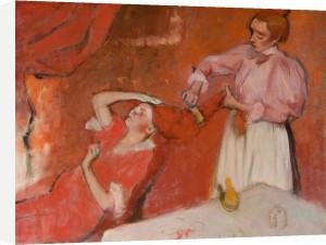 Combing the Hair by Edgar Degas