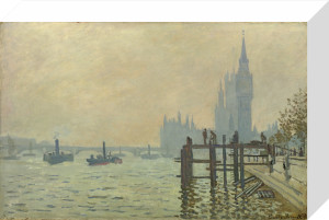 The Thames below Westminster by Claude Monet