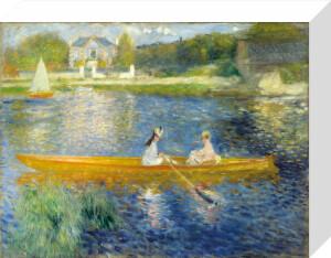 The Skiff by Pierre Auguste Renoir