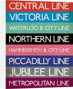 London Underground (Stations) by Anonymous