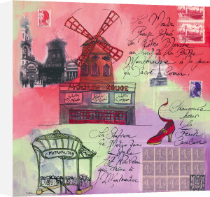 Moulin Rouge by Martine Rupert