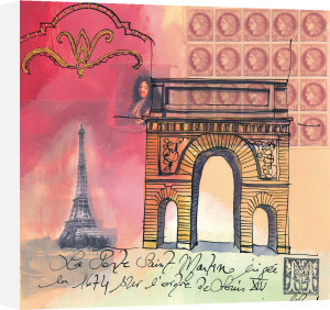 La Porte St Martin by Martine Rupert