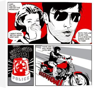 Comic Strip II by Tom Frazier