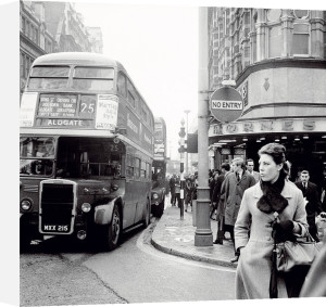 Tottenham Court Road and Oxford Street Junction, 1965 by Henry Grant