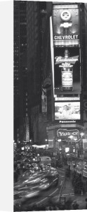 Times Square at Night, New York by Alan Copson