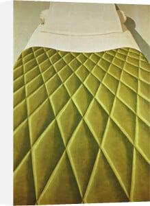 Green Bed Cover, 1969 by Domenico Gnoli