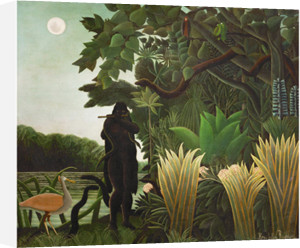 La charmeuse de serpents, 1907 by Henri Rousseau