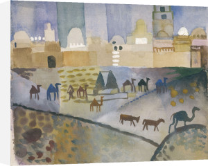 Kairouan I, 1914 by August Macke
