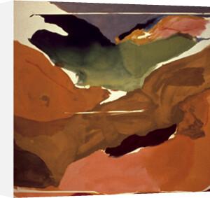 Nature abhors a vacuum by Helen Frankenthaler