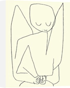 Forgetful Angel by Paul Klee