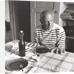 Les Pains de Picasso, 1952 by Robert Doisneau